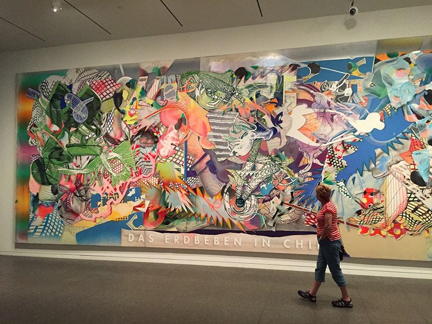 Frank Stella exhibition, Modern Art Museum Fort Worth, 2016