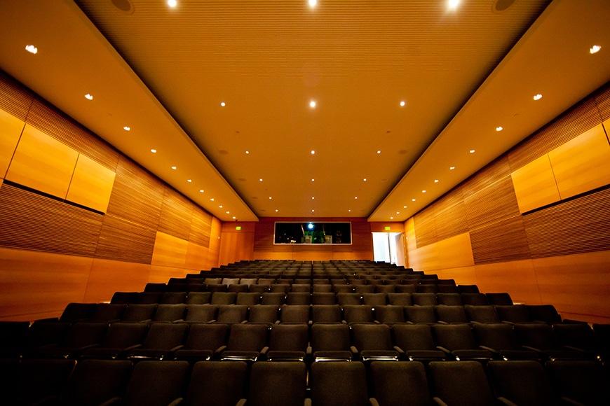 Museum of Modern Art Fort Worth, Tadao Ando, auditorium