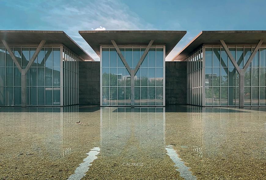 Museum of Modern Art Fort Worth, Tadao Ando, exterior 2