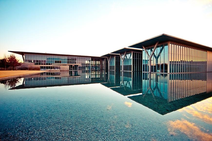 Museum of Modern Art Fort Worth, Tadao Ando, exterior 4