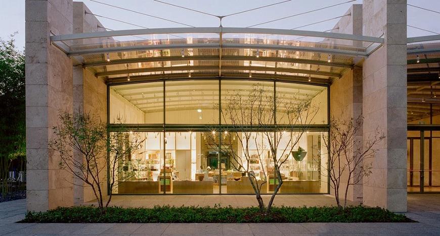 Nasher Sculpture Center Dallas, TX, Renzo Piano, exterior 3