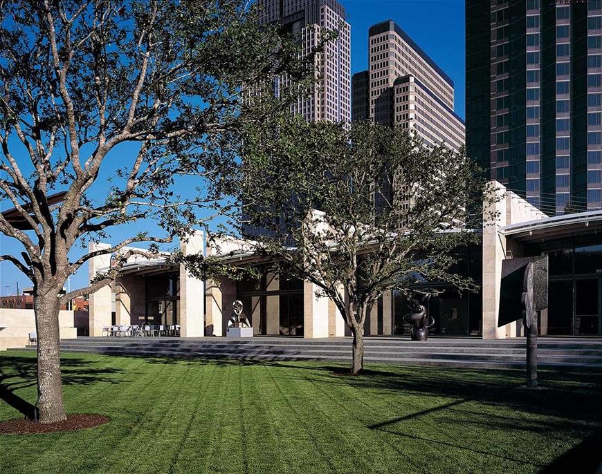 Nasher Sculpture Center Dallas, TX, Renzo Piano, exterior