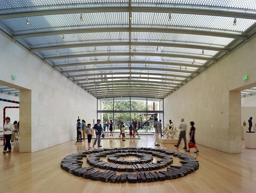 Nasher Sculpture Center Dallas, TX, Renzo Piano, interior 1