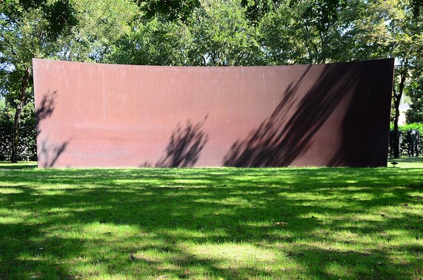 Nasher Sculpture Center Dallas, garden, Richard Serra
