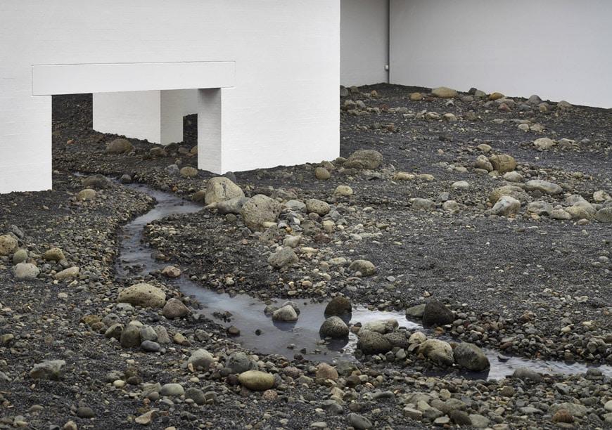 Olafur Eliasson Riverbed exhibition Louisiana museum of art 02