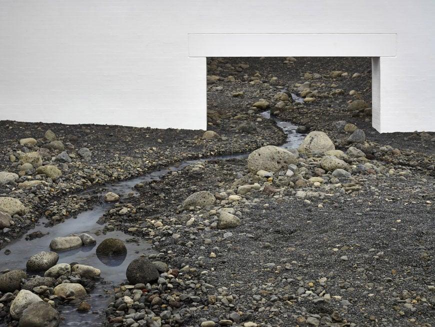 Olafur Eliasson Riverbed exhibition Louisiana museum of art 03b
