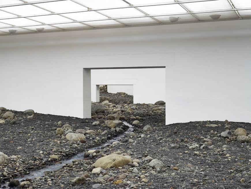 Olafur Eliasson Riverbed exhibition Louisiana museum of art 05