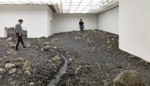 Olafur Eliasson Riverbed exhibition Louisiana museum of art 06