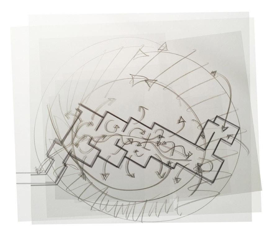 Olafur Eliasson Riverbed exhibition Louisiana museum of art 08
