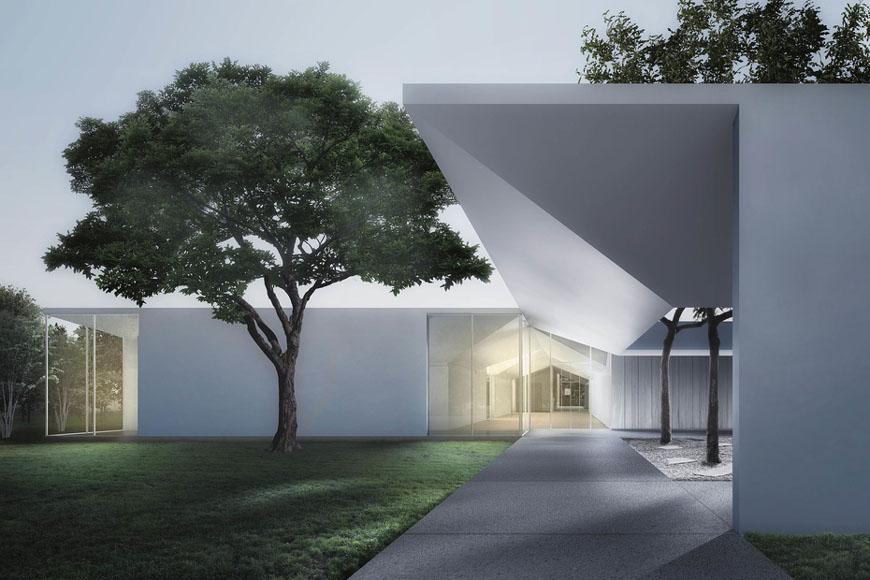 The Menil Drawing Institute Houston Johnston Marklee