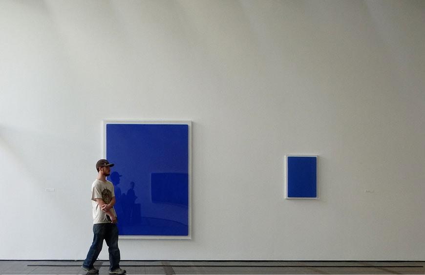 Yves Klein Menil Collection Houston Renzo Pian