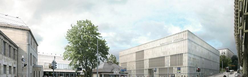 chipperfield-zurich kunsthaus extension-view from Heimplatz-2