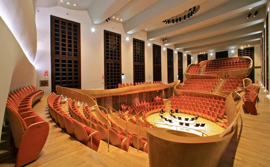 Auditorium Giovanni Arvedi Violin Museum Cremona
