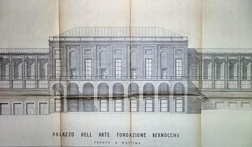 Palazzo Arte Milano Triennale Giovanni Muzio