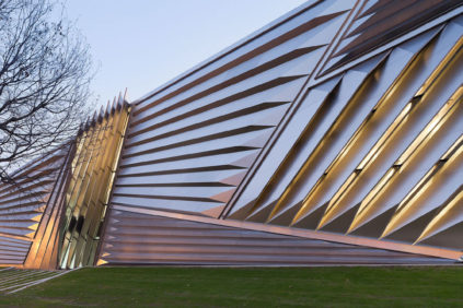 Broad Art Museum at MSU by Zaha Hadid