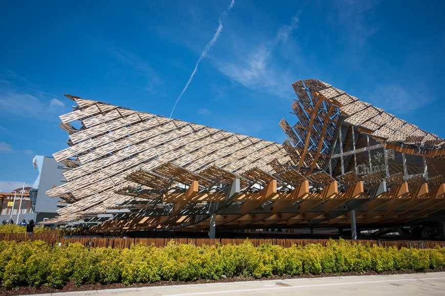 Milan Expo 2015 Land Of Hope China Pavilion