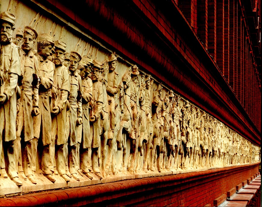 National Building Museum, Washington DC, Civil War frieze