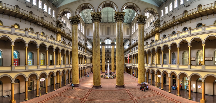 National Building Museum, Washington DC, Great Hall