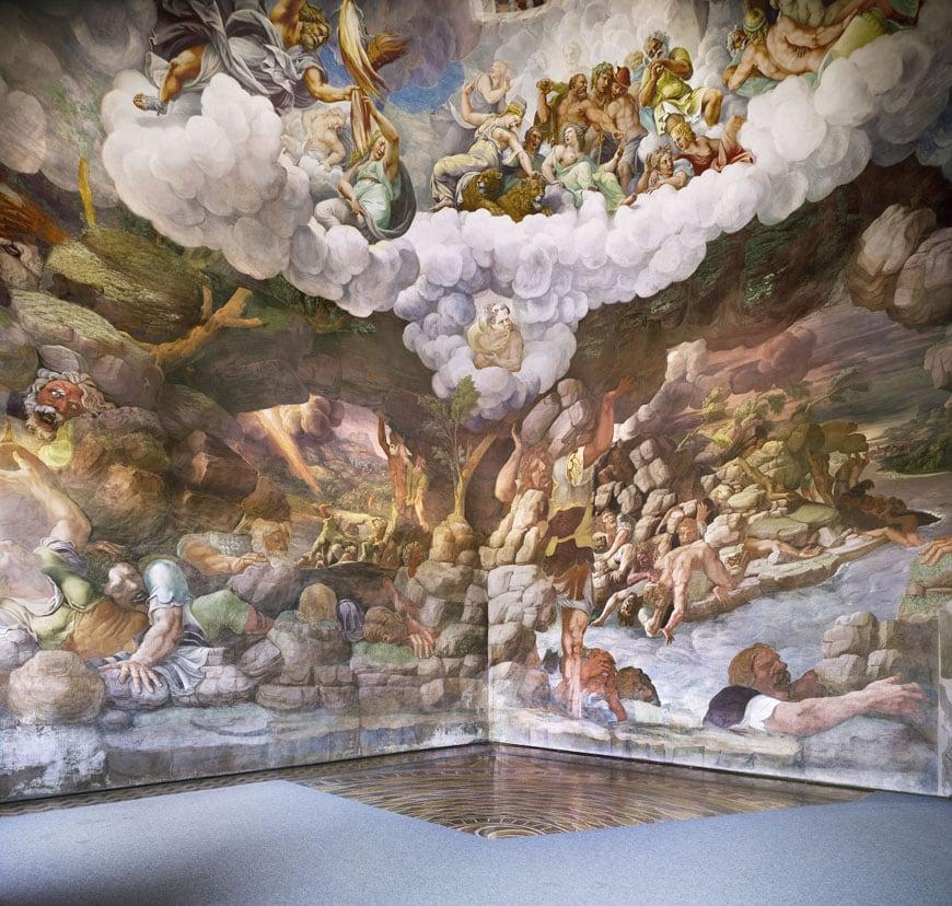 Palazzo Te Mantova Giulio Romano 19