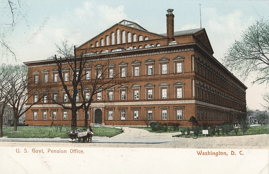 Pension Office building, Washington DC