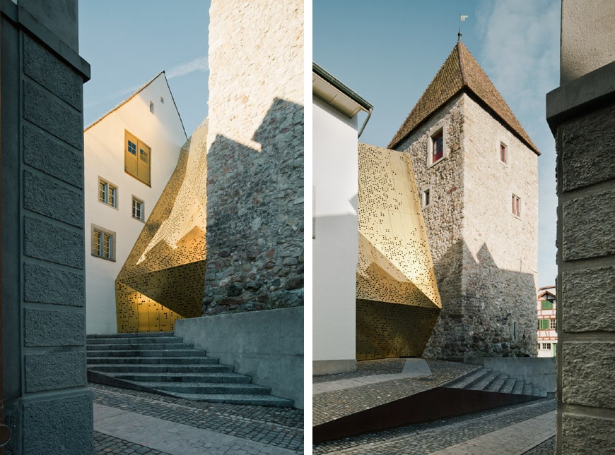 Mlzd Janus Extension Of The Rapperswil Jona Museum