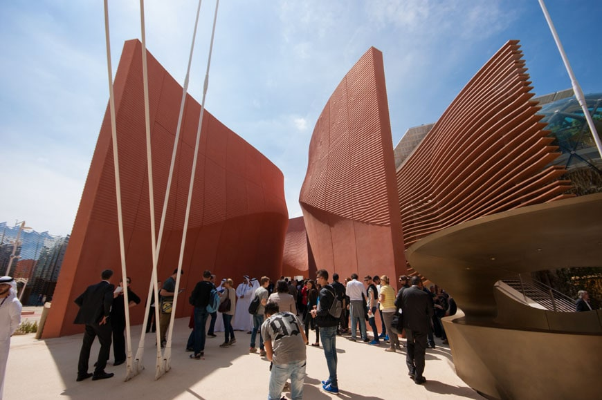 Milan expo 2015 united arab emirates pavilion by norman for Home decor expo 2015