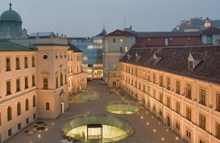 Joanneumviertel, il quartiere dei musei di Graz