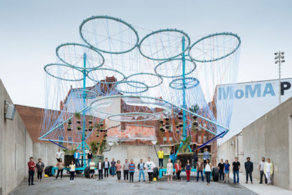YAP 2015 winning project Cosmo by Andrés Jaque at MoMA PS1