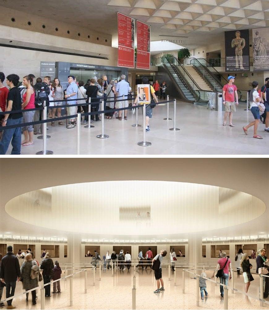 Louvre museum renovation 4