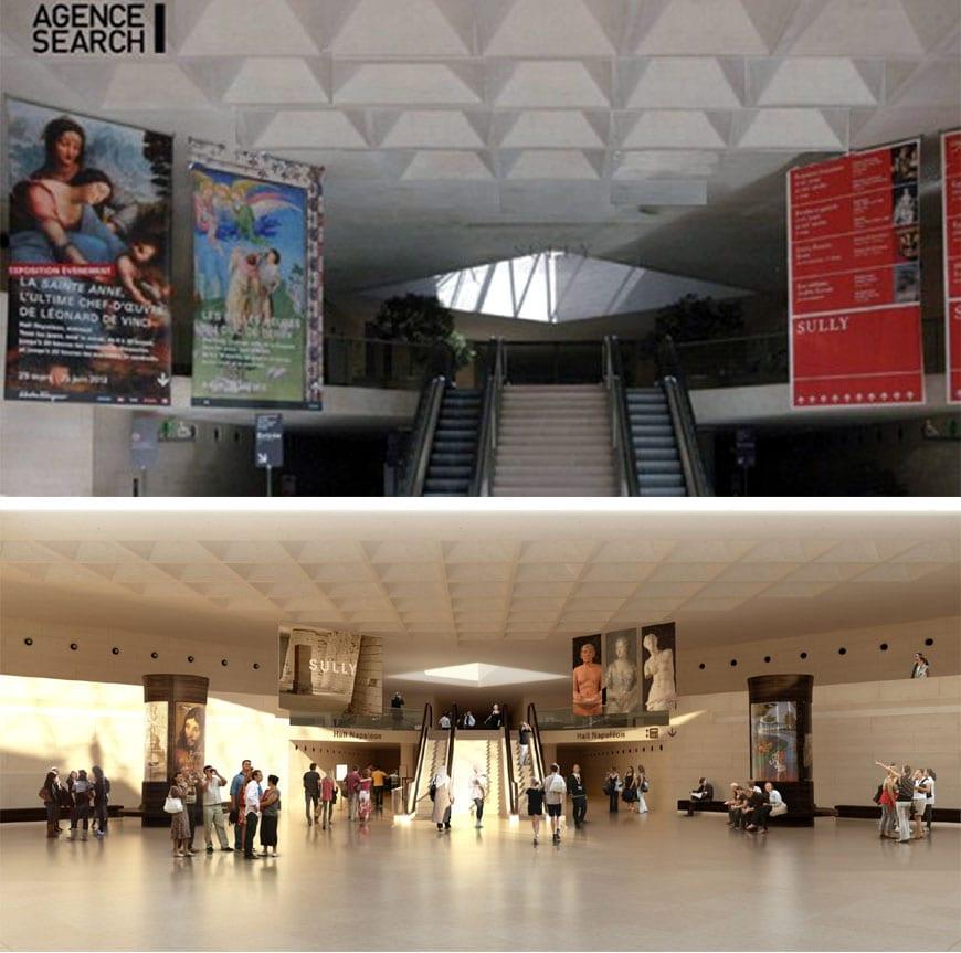 Louvre museum renovation 6