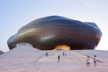 Cina | Il museo Ordos di MAD Architects