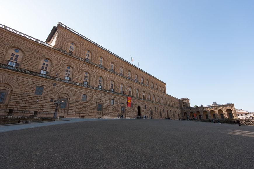 Palazzo Pitti Florence Inexhibit 01