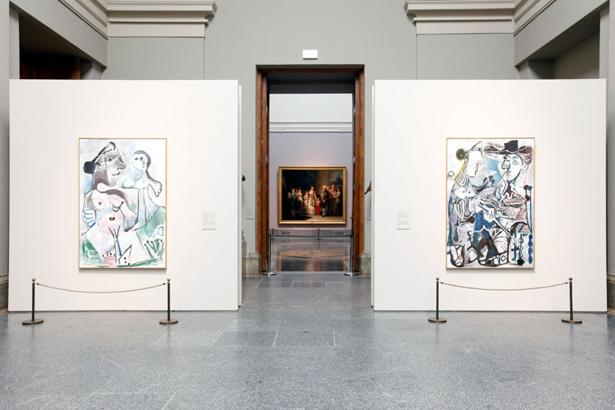 Picasso exhibition 2015 Prado Madrid 06
