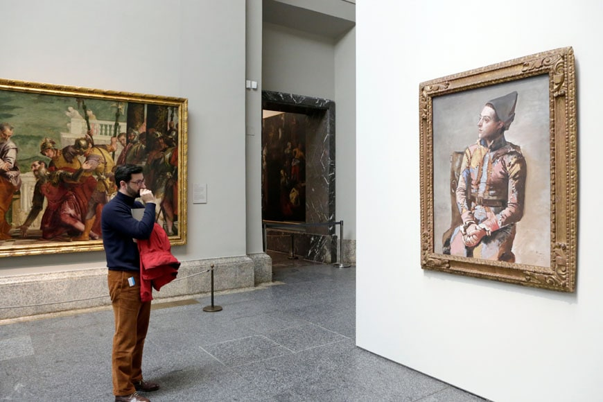 Picasso exhibition 2015 Prado Madrid 07