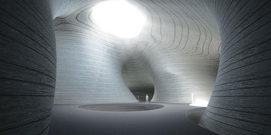 Pingtan Art Museum China by MAD 08