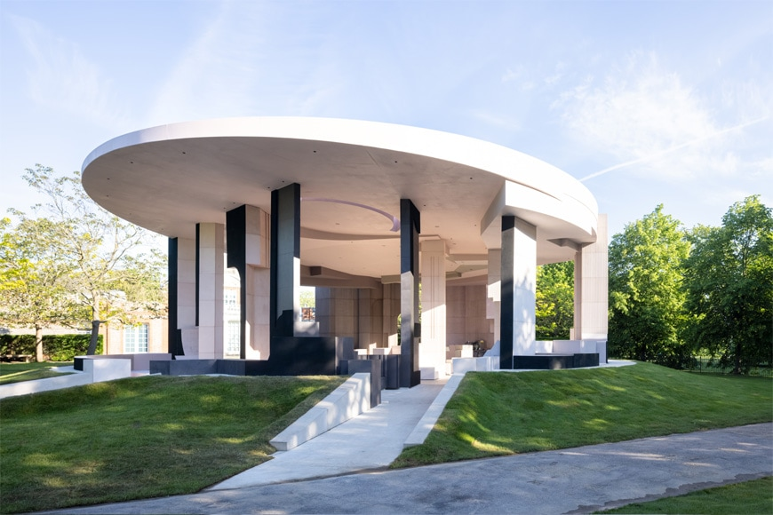 Serpentine Galleries Pavilion 2021, London, Counterspace