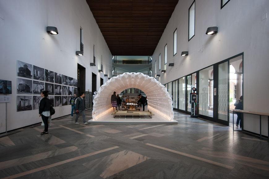 Kengo Kuma installation Milan Inexhibit 01