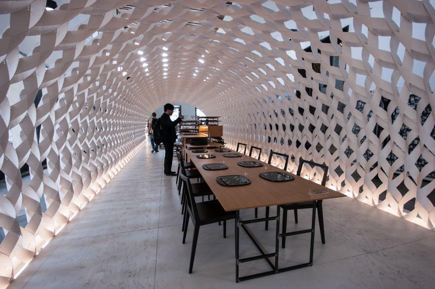 Kengo Kuma installation Milan Inexhibit 02