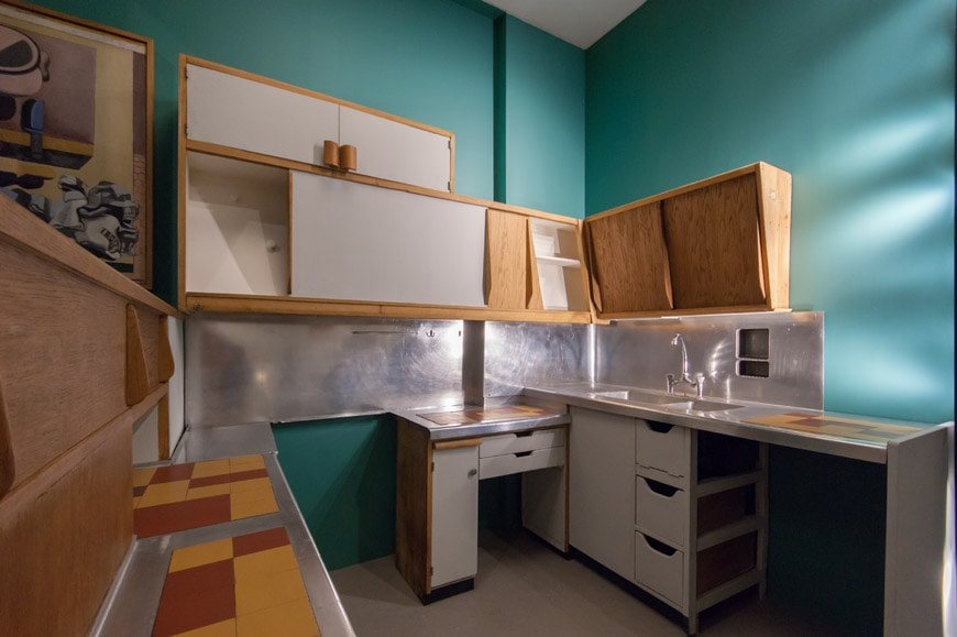 arts & foods-Le Corbusier-kitchen-inexhibit