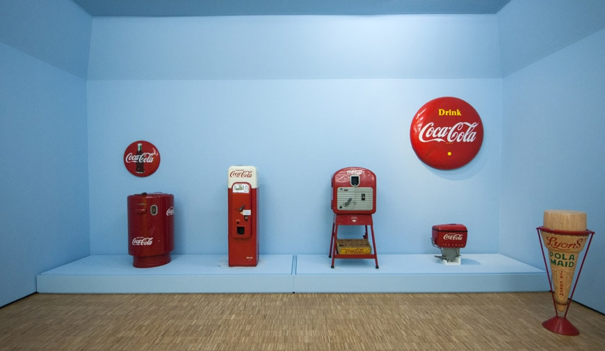 arts & foods-coca cola-inexhibit