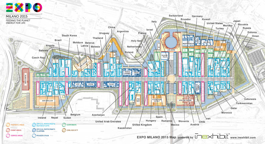 expo milan 2015 site map Inexhibit low