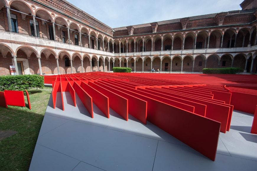 Milan future flowers installation by daniel libeskind - Design d interni milano ...