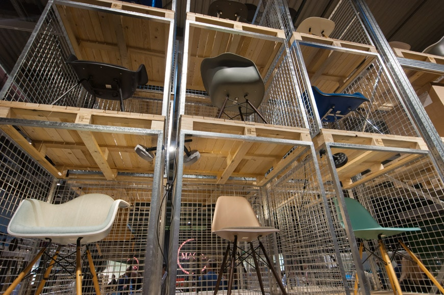 Pictures from the 2015 milan furniture fair salone mobile for Salone del mobile vitra