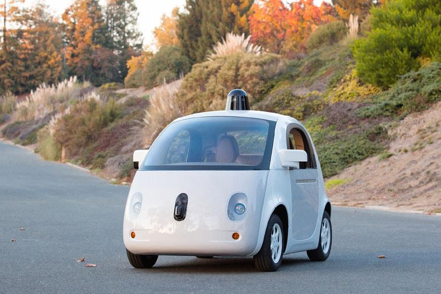Design of the Year 2015 Transport Google Car