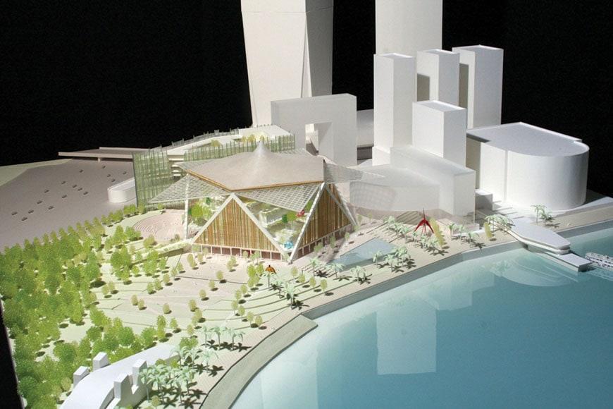M+ museum Hong Kong Shigeru Ban
