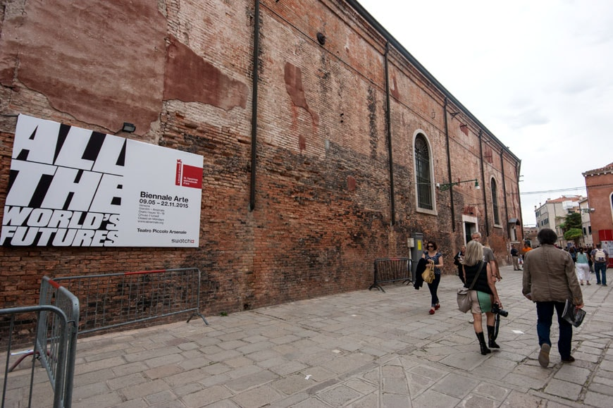 Venice art biennale 2015 all the world 39 s futures index for Artisti biennale venezia