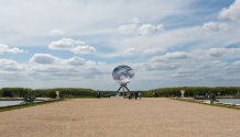 Anish Kapoor Versailles exhibition sky mirror