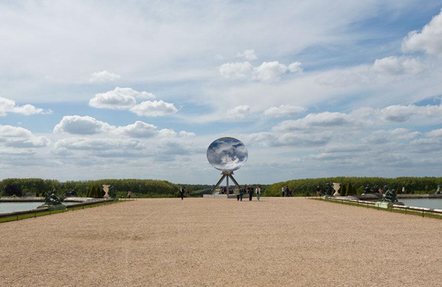 Anish Kapoor Versailles exhibition sky mirror
