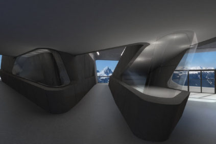 3D virtual visit app for new Zaha Hadid's museum