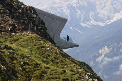 Zaha Hadid's MM Corones gazes at mountains